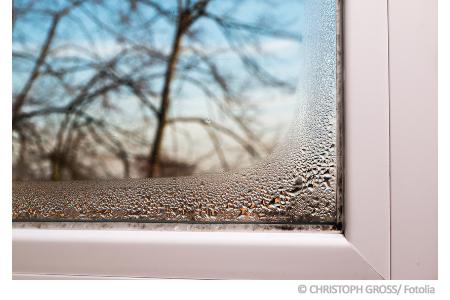 Belag Auf Fensterscheiben